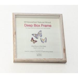 Raam-box 30x30  Driftwood